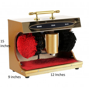 Automatic Electric Shoe Polishing Machine Buff Polisher Polish Shining Cleaner Clean Gift Gold Shoes
