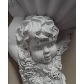 Hanging-Flower-Display-Holder-Victorian-wall-child-ornate-display-chic-shelf-CR1
