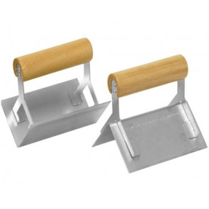 2 CORNER TROWEL SET STEEL INTERNAL EXTERNAL WALLS INSIDE OUTSIDE DRY WALL CA102