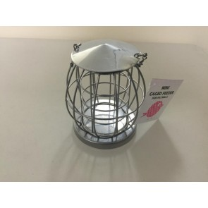 FAT BALL MINI FEEDER BIRD FOOD CAGED GARDEN FEEDING STATION CA20