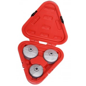 TOYOTA OIL FILTER SET 3 PIECE REMOVER TOOL AUTOMOTIVE VEHICLE WRENCH PULLER CA36