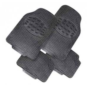 Car Mats universal fit rubber high quality strong set of four Trikes Tata etc