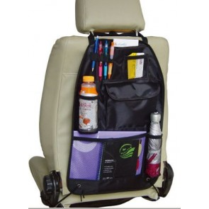 Car Van Back rear Seat Organiser Organizer baby tools books carry hold all NEW