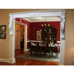 Victorian Style Corbel (CR0) Room Entrance Hallway Kitchen Conservatory Entrance Archway Curved  BEAUTIFULL