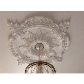 Large Beautiful Ornate white Ceiling rose (CR7)