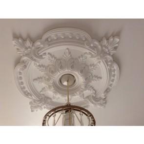 Large Beautiful Ornate white Ceiling rose (CR7)