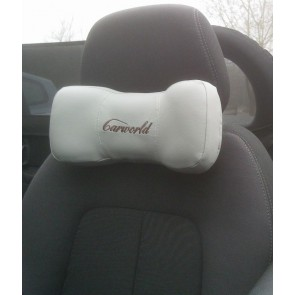 Neck support pillow car lorry driver seat head back rest suzuki jaguar etc GREY