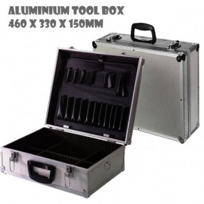 Aluminium Tool Box Case Flight Storage Lockable New Tools Toolbox Brief case H1