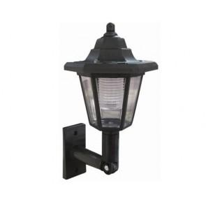 SOLAR WALL LANTERN LED LIGHT OUTDOOR GARDEN LAMP MOUNTED FENCE SUN LIGHTING H31