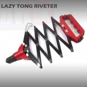 LAZY TONG FOLDING EXTENDING EASY RIVETER POP RIVET GUN