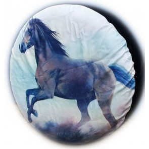 Horse Pony Running Fantasy Wheel cover rear spare tyre wheelcover to fit all 4x4 and caravans
