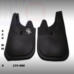 LARGE 42 X 27cm Rubber Mudflaps Mud Flaps splash Guards Pair front Rear MF-NL
