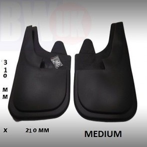 Rubber Mudflaps Mud Flaps splash Guards Pair front Rear MEDIUM 31 CMX22 CM MF-NM