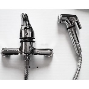 MUSLIM SHATTAF BIDET TOILET MINI MIXER TAP WITH SHOWER HAND HELD DOUCHE HAMAM