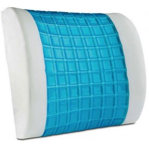 ORTHOLOGICS LUMBAR SUPPORT PILLOW BACK REST CUSHION MEMORY FOAM SUPPORT TRAVEL OL2