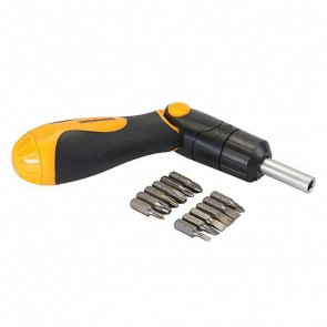 BRAND NEW MULTI-BIT RATCHET SCREWDRIVER HAND TOOL SCREW DRIVER TOOLS 3-WAY P111