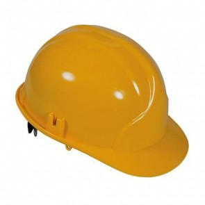 BRAND NEW SAFETY HARD HAT YELLOW WORKWEAR EN397 PROTECTION HELMET DIY TOOL P303