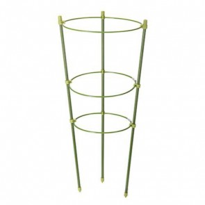 BRAND NEW PLANT SUPPORT 3 RING 450 MM GARDEN STRUCTURE GARDENING P73