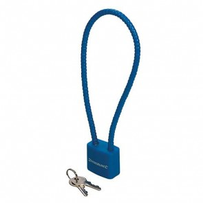 BRAND NEW CABLE LOCK 330 MM STEEL CHAIN SECURITY ACCESSORIES P78