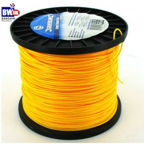 Co-polymer Heavy Duty Trimmer Line electric petrol wire 2mm x 377m - cord -S12