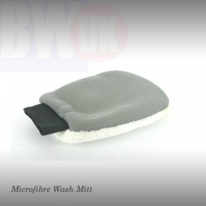 Microfibre flannel car wash mitt Window cleaning polishing mit washable S26