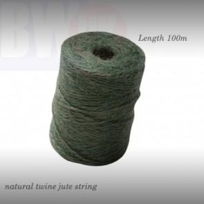 Garden String Jute Twine Green Maxi Parcel gardening Rope Ball Line 100m (S30)