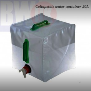 COLLAPSIBLE WATER DRINK CONTAINER BAG HOLDER CARRIER 20L CAMPING GARDENING - S6