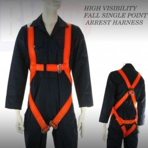 Fall Body Single Point Arrest Harness Work Position Belt Clip Harness S65