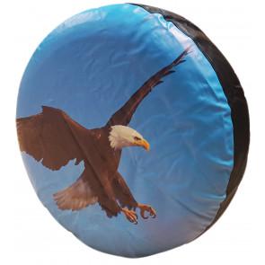 4X4 TIRE COVER AMERICAN BALD EAGLE BIRD SPARE WHEEL TYRE COVER SUZUKI FREELANDER