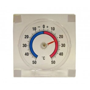 FAITHFULL Thermometer Stick On-window Adhesive Fridge Celsius Fahrenheit T22