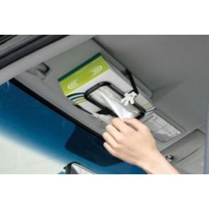 Car Tissue Box Holder Belt Paper Cover Sun Visor Case Napkin Clip Auto
