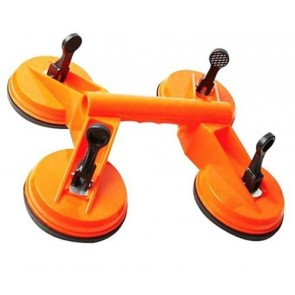 Quad Suction Cup Glass Lifter 4 Pads 115mm Carrying 120kg 120mm pad size U149