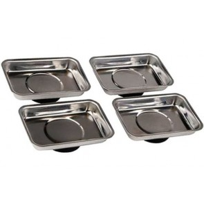 MAGNETIC PARTS TRAY SET STAINLESS STEEL METAL FIXINGS MAGNETIC DISH PARTS U230