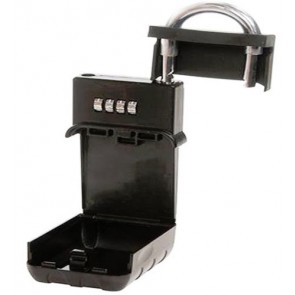 LARGE Combination Steel Key Safe Security Storage strong BOX fixture U231