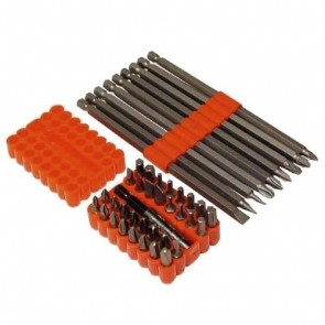 BRAND NEW SCREWDRIVER BIT SET & BIT BOX 42PCE POWER TOOL ACCESSORIES U287