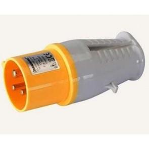 16A 3 pin Industrial Male Electrical Plug Socket 110V 16 Amp U31