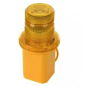 Emergency Truck / Car Yellow Flashing Light Warning Beacon AMBER Siren U41