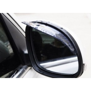 2 Car Wing Exterior Side Mirror waterproof Eyebrow Rain Protection Cover Cap U47