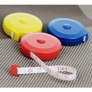 """1.5m 60"""" inches fabric tape measure casing cloth tailor body measuring tape U49"""