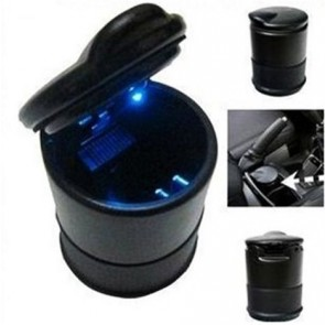 CAR LIGHT UP ASHTRAY ASH TRAY TRAVEL CARRY CIGARETTE HOLDER FIREPROOF CUP U53