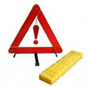 Car Warning Sign Triangle folding Reflective Hazard Breakdown EU Emergency U57