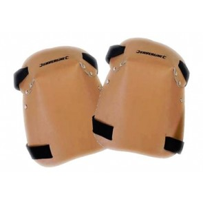 Extra Thick Leather Knee Pads Adjustable Kneeling Protection Safety U89