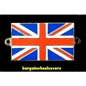 UK England Britain FLAG Metal chrome badge logo emblem